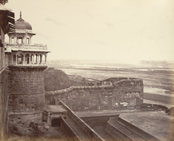 View from the Fort, Agra.